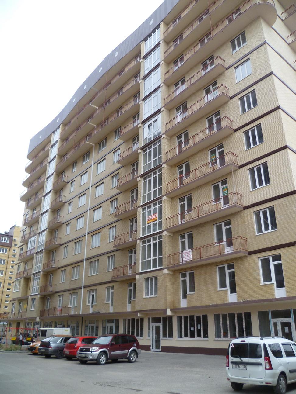 Продается квартира новостройка в Ессентуках, ул Октябрьская 337 корпус 3, 2-комнатная  68,22 кв. м.