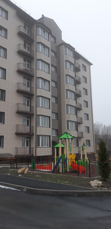 Срочно продается квартира в Ессентуках,  ул. Пригородная строение 12, новый дом.  1-комнатная квартира 47,4 кв.м