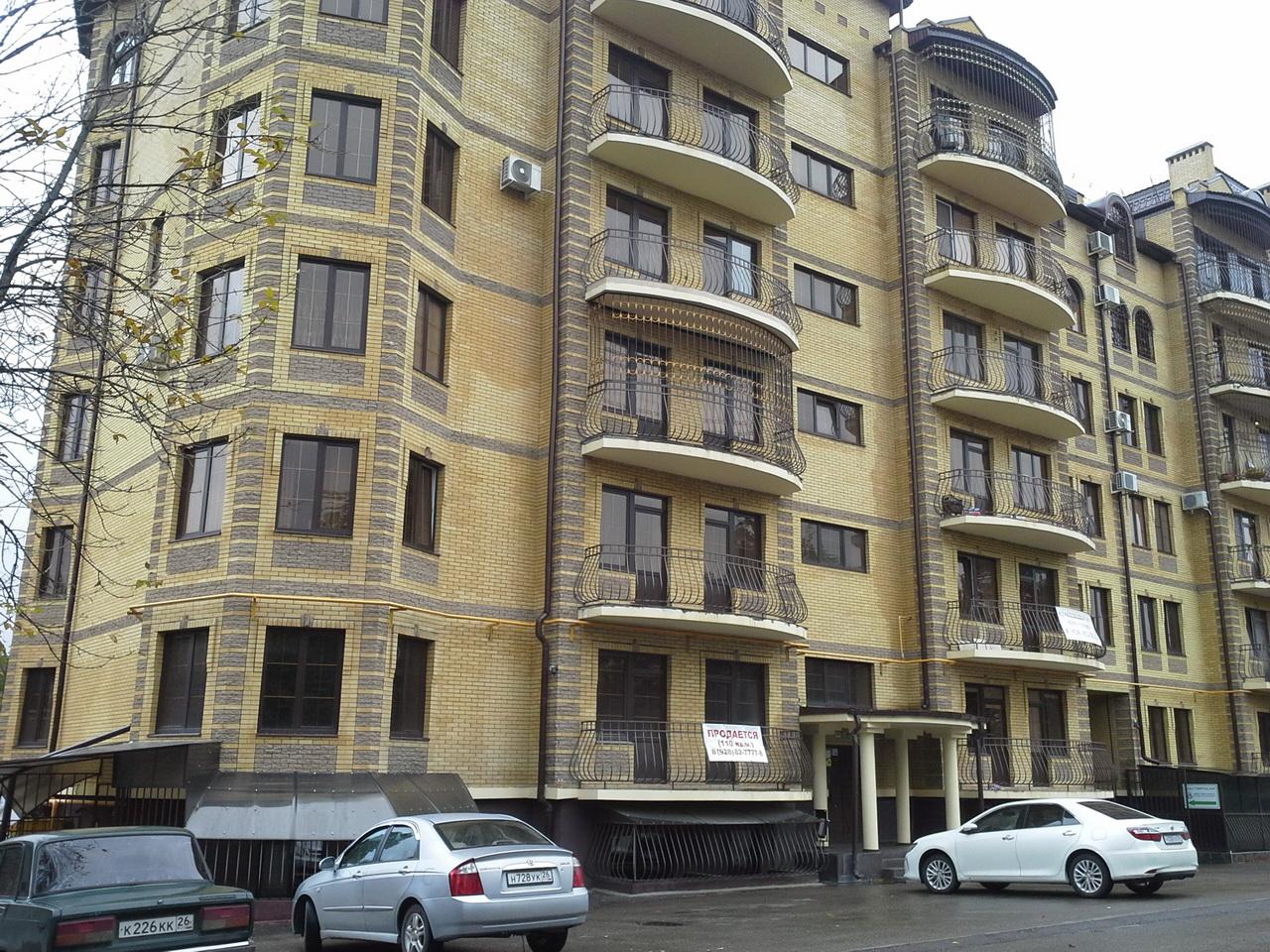 Продается 3-комнатная квартира в Ессентуках, ул. Пятигорская 24